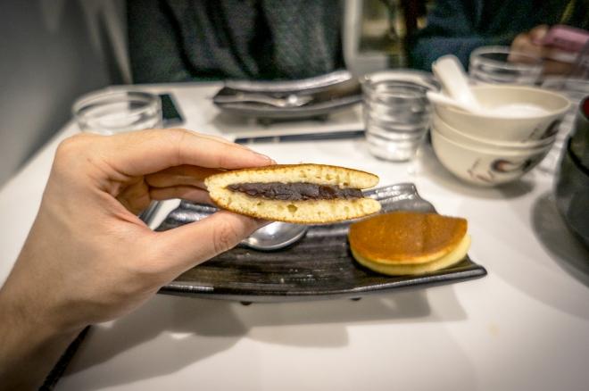 Dorayaki (pancake à la pate de haricot rouge)